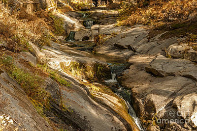 Stream In The Sierras  1-7828 Art Print by Stephen Parker