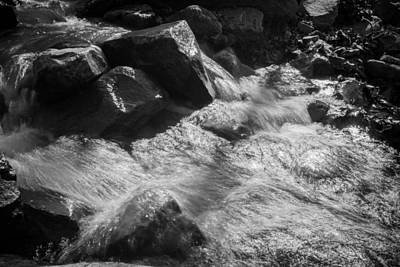 Photograph - Stream In The Sunlight by Nathan Hillis