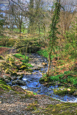 Art Print featuring the photograph Stream In Wales by Doc Braham