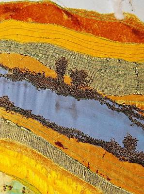 Tapestry - Textile - Stream by Katharina May
