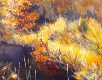 Painting - Stream by Kendall Kessler