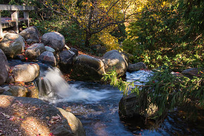 Landscape Photograph - Stream With Boulders by AMB Fine Art Photography