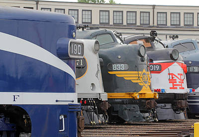 Photograph - Streamliners Festival -- One Nose Above All Others by Joseph C Hinson Photography