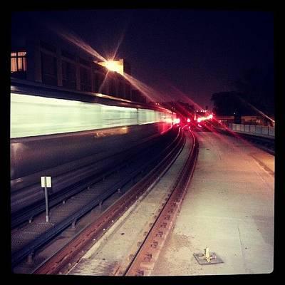 Track Photograph - Streamlining The Cta by Jill Tuinier