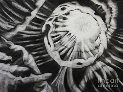 Streams Of Light Art Print
