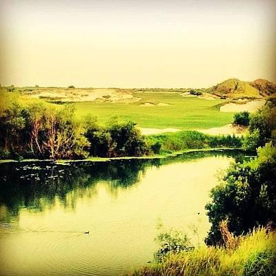 Streamsong #golf #iphone5 #instagram Art Print