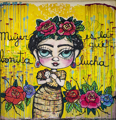 Street Art - Buenos Aires Argentina Art Print