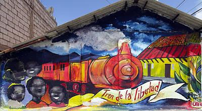 Photograph - Street Art Ecuador Salinas 4 by Kurt Van Wagner