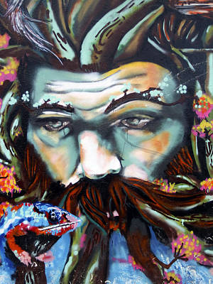 Street Art Ecuador.1 Art Print