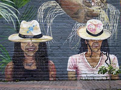 Photograph - Street Art Ecuador.3 by Kurt Van Wagner