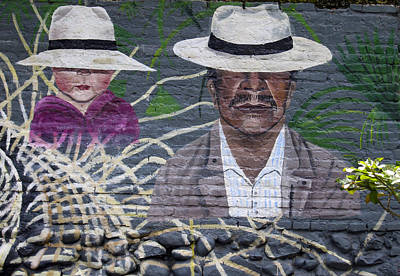 Street Art Ecuador.4 Print by Kurt Van Wagner