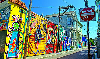 Photograph - Street Art In The Mission District Of San Francisco II by Jim Fitzpatrick