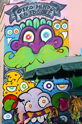 Photograph - Street Art Lima Peru 2 by Kurt Van Wagner