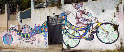 Photograph - Street Art Valparaiso Chile by Kurt Van Wagner
