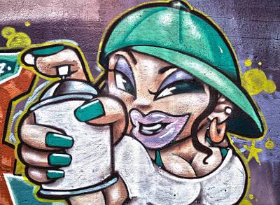 Street Art Xi Art Print by Roger Lapinski