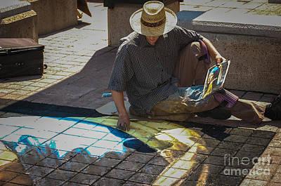 Photograph - Street Artist by Bianca Nadeau