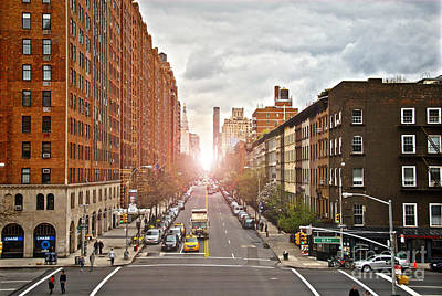 Manhattan Photograph - Street As Seen From The High Line Park by Amy Cicconi