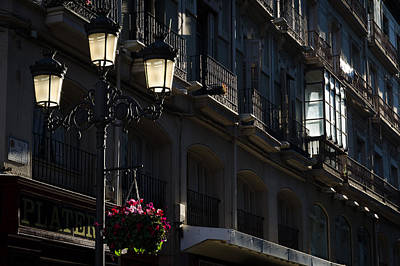 Photograph - Street At Sunset. by Pablo Lopez
