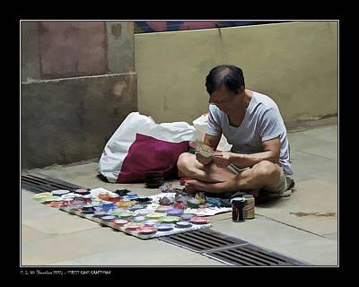 Street Cans Craftsman Art Print by Pedro L Gili