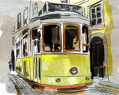 Painting - Street Car by Robert Smith