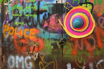 Grafitti Photograph - Street Colors by Izak Katz