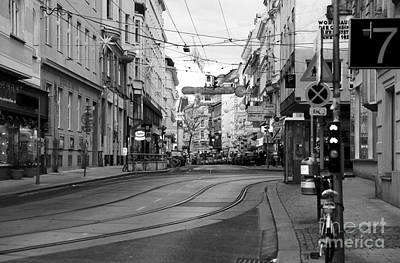 Photograph - Street Curve In Vienna by John Rizzuto