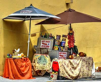 Hot Dogs Photograph - Street Eats by Debbi Granruth