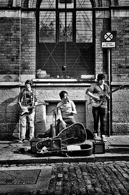 Photograph - Street Entertainers by Jim Orr