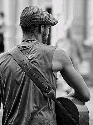Photograph - Street Guitar Player by Britt Runyon