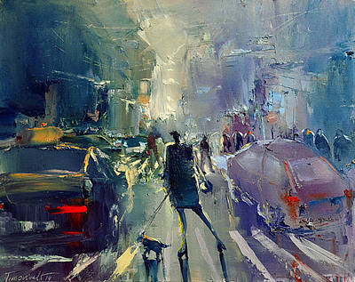 Painting - Street II by David Figielek