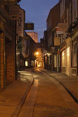 Big Ben Digital Art - Street In Cork - England by Mike McGlothlen
