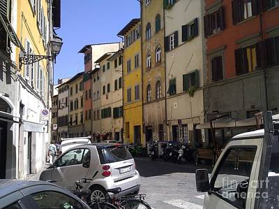 Photograph - Street In Florence by Ted Williams