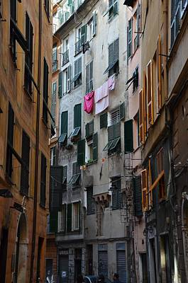 Photograph - Street In Genova by Dany Lison