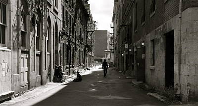 Photograph - Street In Sunshine by Jocelyne Choquette