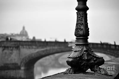 Steampunk - Street Lamp along the Arno by Tiffany Dryburgh