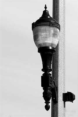 Photograph - Street Lamp In Bonners Ferry Idaho by Karon Melillo DeVega