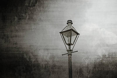 Photograph - Street Lamp On The River by Brenda Bryant