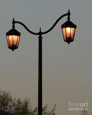 Photograph - Street Lamps by Mark McReynolds