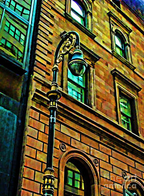 Photograph - Street Light 2 by Anne Ferguson