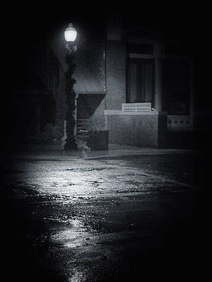 Photograph - Street Light by Dennis James