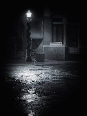 Photograph - Street Light by Dennis James
