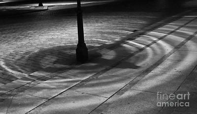 Art Print featuring the photograph Street Light by Inge Riis McDonald