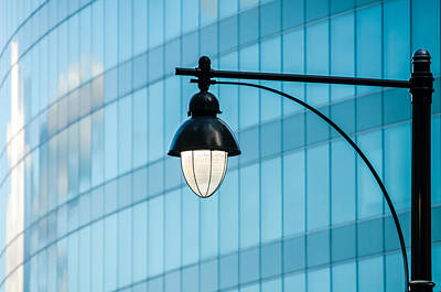 Photograph - Street Lights I by Ryan Heffron