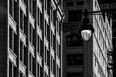 Photograph - Street Lights II by Ryan Heffron