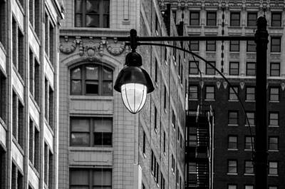 Photograph - Street Lights IIi by Ryan Heffron