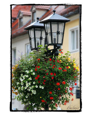 Photograph - Street Lights In Germany by Diana Haronis
