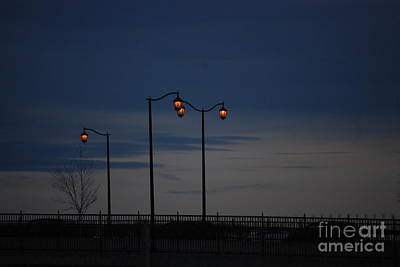Photograph - Street Lights by Mark McReynolds