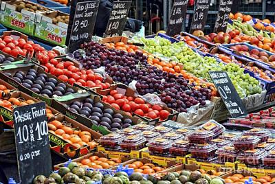 Photograph - Street Market Flavors By Diana Sainz by Diana Raquel Sainz