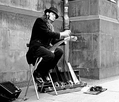 Street Muscians Wall Art - Photograph - Street Muscian by John Bailey