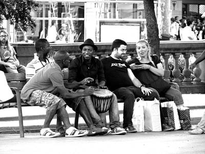 Photograph - Street Music  by Gal Moran